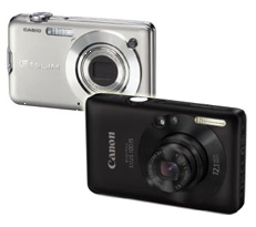 Casio Exilim S12 versus Canon Ixus 100 IS