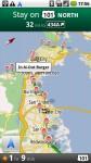 Google Navi: Beliebige Ebenen lassen sich zu der Karte hinzufügen - wie hier eine Burger Restaurant Kette