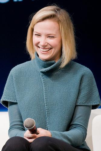 Marissa Mayer bei einer Präsentation (Foto von Giorgio Montersino / Flickr)