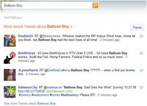 Twitter on Bing Screenshot 1