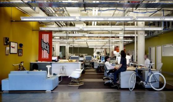 Facebook: Viel Platz trotz Gemeinschaftsbüro