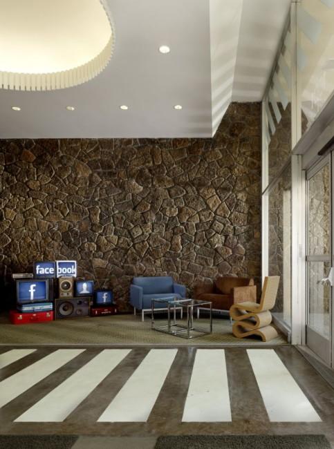 Facebook: Der Eingangsbereich des neuen Bürokomplexes