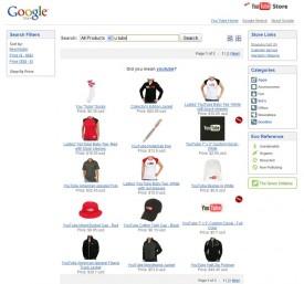 Google Commerce Search: Die Ergebnisseite einer Suche
