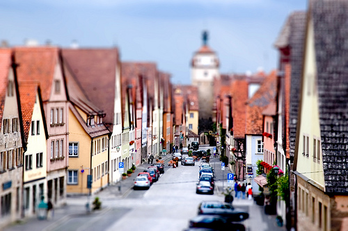 Tutorial zur Tilt-Shift Fotografie
