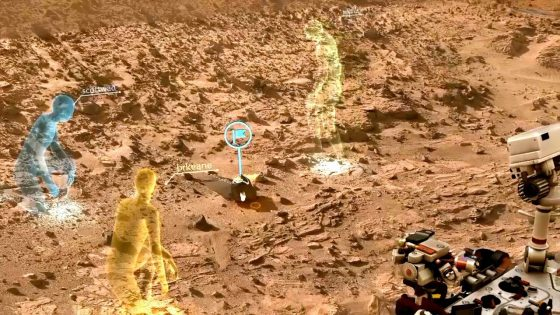Hololens: Gemeinsam auf den Mars